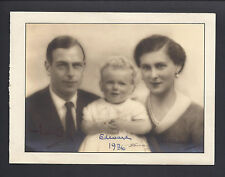 Prince George Duke of Kent Princess Marina Greece Denmark Signed Christmas Card