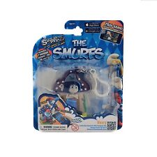 THE SMURFS COLLECTIBLE CHARACTER WITH BACKPACK CLIP VEXY NEW