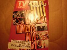 TV Guide June 29th,1996 100 MOST MEMORABLE MOMENTS IN TV HISTORY