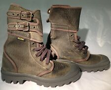 Palladium Ranger Faded Black Women's Boots_Size 7_Canvas Uppers