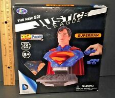 JUSTICE LEAGUE New 52 DC Comics 3D Puzzle SUPERMAN Bust 72pcs NEW & SEALED
