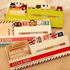 DIY Scrapbooking Paper post it Kawaii Animal Memo Pads Stickers Sticky Notes