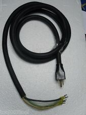 8 Feet 12 AWG 3 Wire 600 Volt Water Resistant Electrical Cord with Connectors