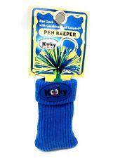 Kooky Klickers Blue Pen Socks Holder Lanyard Sox Party Gift School Pens Clip G