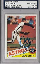 Dave Smith Signed Autographed 1985 Topps PSA/DNA *0751 Astros