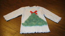 BOUTIQUE ONE POSH KID 24M 24 MONTHS CHRISTMAS TREE SHIRT TOP