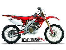 2004 2005 HONDA CRF 250R DIRT BIKE GRAPHICS KIT CRF250R MOTOCROSS SKULL DECALS