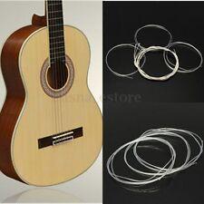 Set 6 Cuerdas de Nylon 100 cm. Largo para Guitarra Clásica / Española Acústica