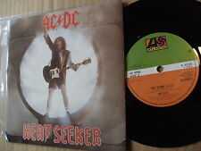 AC DC HEAT SEEKER 45rmp vinyl 7ins single record