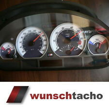 speedometer speedometer dial for BMW E46 Petrol Black Carbon 250 kmh