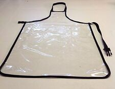 "Apron , Clear Heavy Duty Waterproof,Vinyl 27"" x 36"" case of 5"
