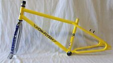 "2016 SE Racing OM Flyer 26"" BMX Bike Frame & Fork Retro Cruiser Yellow"