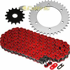 Red O-Ring Drive Chain & Sprockets Kit Fits KAWASAKI ZR7 ZR7S ZR750 2000-2004