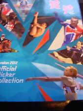 LONDON 2012 OLYMPICS OLYMPIC STICKER BOOK ALBUM PANINI RARE UNUSED & STICKERS