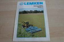 128027) Lemken Rotorgrubber Rubin 9 Prospekt 03/2004