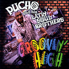 Groovin' High by Pucho & His Latin Soul Brothers CASSETTE TAPE OOP SEALED