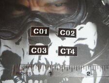 """Soldier Story 1/6 Scale CIA SAD Night OPS V2 Patches 12"""""""