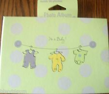 """IT'S A BABY PHOTO ALBUM- HOLDS 36- 4"""" X 6"""" PHOTOS- GREAT GIFT"""
