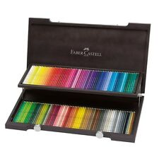 #117513 Faber Castell Wooden Case of 120 Watercolour Pencils Albrecht Dürer Art