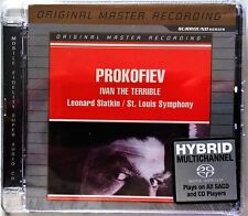 PROKOFIEV IVAN THE TERRIBLE SLATKIN SACD MOBILE FIDELITY MFSL SEALED
