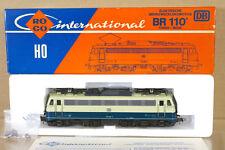 ROCO 4137B DB BLUE CREAM CLASS BR 110 401-7 E-LOK LOCO MINT BOXED ni