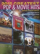 2015 Greatest Pop & Movie Hits Songbook/Big Note Piano