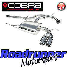 "Cobra Audi A3 2.0 TDi 170bhp Exhaust System 2.5"" Stainless Cat Back 2WD 3Door 8P"