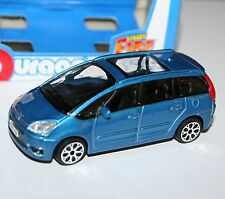 Burago - CITROEN C4 PICASSO 2011 (Blue) - 'Street Fire' Model Scale 1:43