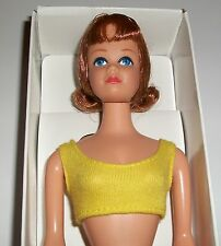 VINTAGE BARBIE REPRO MIDGE DOLL WITH SWIMSUIT AND REPRODUCTION BOX