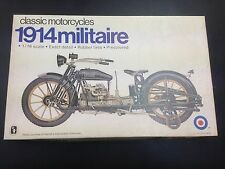 1/16 Entex Industries Classico Motocicli 1914 MILITAIRE motocicli kit