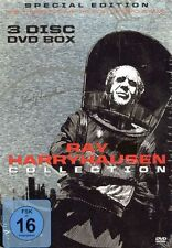 DVD-BOX - Ray Harryhausen Collection - 3 Filme - She, Things To Come u.a.
