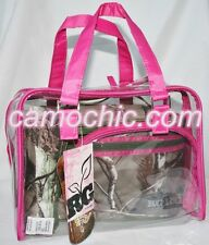 CABOODLES REALTREE GIRL CAMOUFLAGE & PINK 4 PIECE MAKEUP TRAVEL BAG, LUNCH BOX