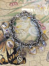 Beautiful Brighton Breast Cancer Awareness Words Of Encouragement CharmBracelet