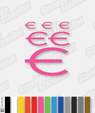 Epiphone Style Logo Decal Pack - 16+ Custom Colours