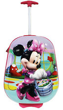"Disney Minnie Mouse 3D ""Soft Shell"" Suitcase Carry-on Luggage Kids Suit Case"