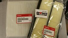 NEW GENUINE HONDA ENGINE AIR / IN CABIN AIR FILTER SET 2013-2015 ACCORD V6