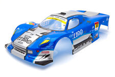 . Racing Ferrari Fxx Estilo Body Shell De 190 Mm Azul s018b