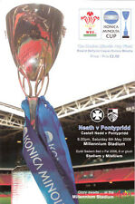 Neath v Pontypridd - Konica Minolta Cup Final 6 May 2006  RUGBY PROGRAMME