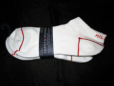 TOMMY HILFIGER WOMENS LOW CUT / NO SHOW SOCKS ONE SIZE FIT 9-11 NEW NWT