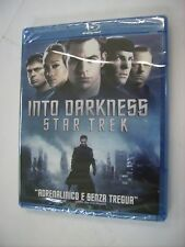 INTO DARKNESS STAR TREK  - BLU RAY NEW SEALED - CHRIS PINE -BENEDICT CUMBERBATCH