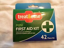 first aid kit 42pc mini travel compact case new home office work car new sport