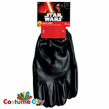 Adults Official Star Wars Force Awakens Kylo Ren Gloves Fancy Dress Accessory