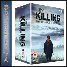 THE KILLING - THE COMPLETE SERIES -SEASONS 1 2 3 & 4  *BRAND NEW BLU-RAY BOXSET*