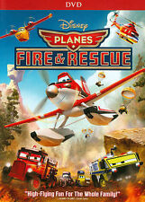 Planes: Fire & Rescue (DVD, 2014) New Disney with Slipcover Free shipping