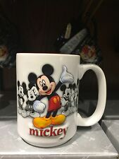 disney parks ceramic coffee cup mug mickey mouse poses new