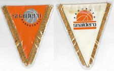 SNAIDERO UDINE BASKETBALL CLUB ITALY ITALIA OFFICIAL SMALL PENNANT OLD SEALED