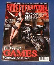 STREETFIGHTERS MAGAZINE DECEMBER 2005 - POWER GAMES BONDAGE GSX-R 1240