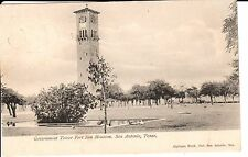 Early 1900's The Government Tower, Fort Sam Houston in San Antonio, TX Texas PC