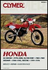 CLYMER SERVICE REPAIR MANUAL M328-4 HONDA XR250R 1995 1996 1997 1998 1999 2000