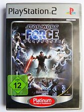 Star Wars, The Force Unleashed, PS2-DVD